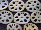 花粉症によい食べ物レンコン
